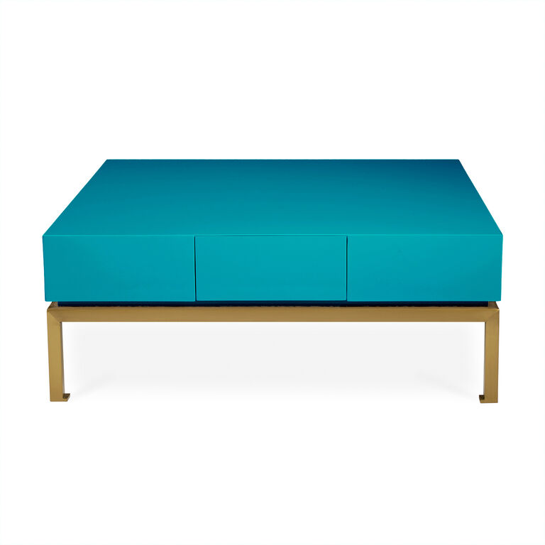Peking Blue Cocktail Table Modern Furniture Jonathan Adler