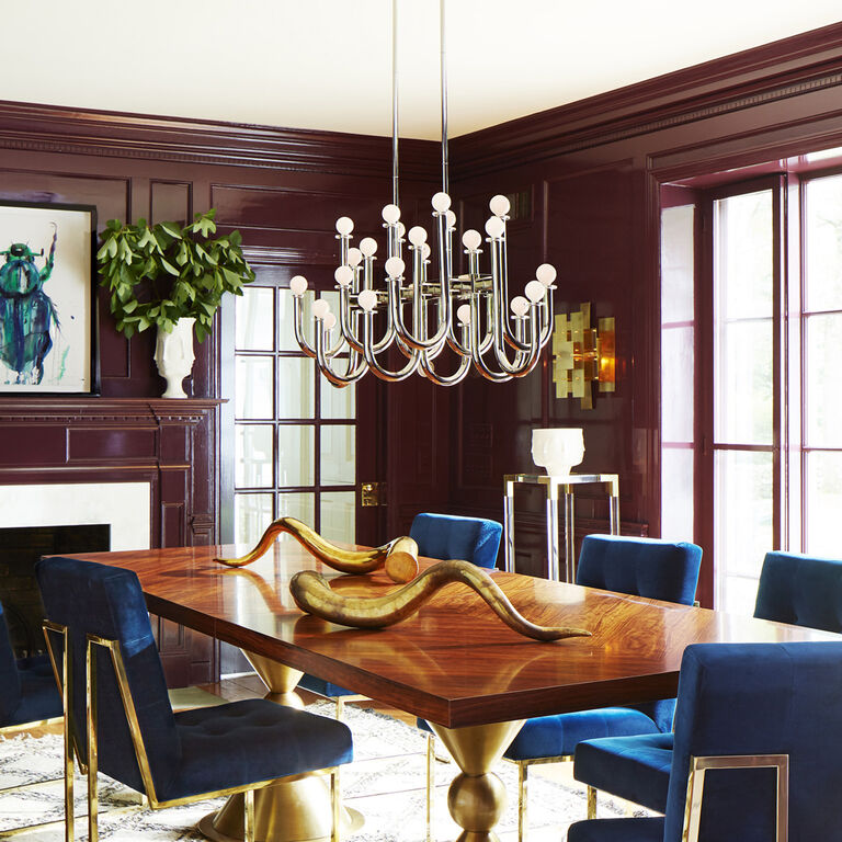 Chandeliers - Milano Rectangular Chandelier