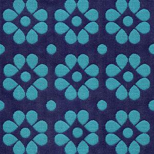 Fabric swatches - Kahlo Twilight