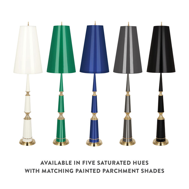 Floor Lamps - Versailles Floor Lamp with Painted Shade
