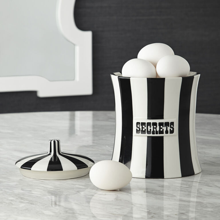 Cookie Jars & Canisters - Secrets Canister