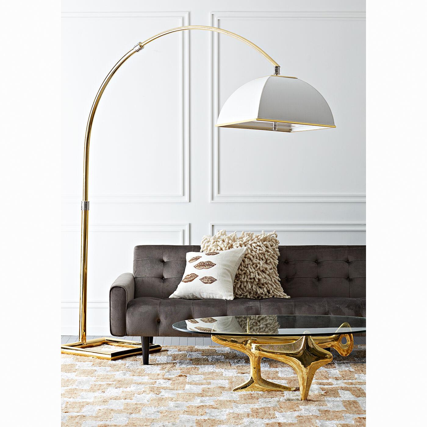 floor lamps electrum arc floor lamp - Arched Floor Lamp