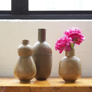 Vases - Vertical Relief Vase