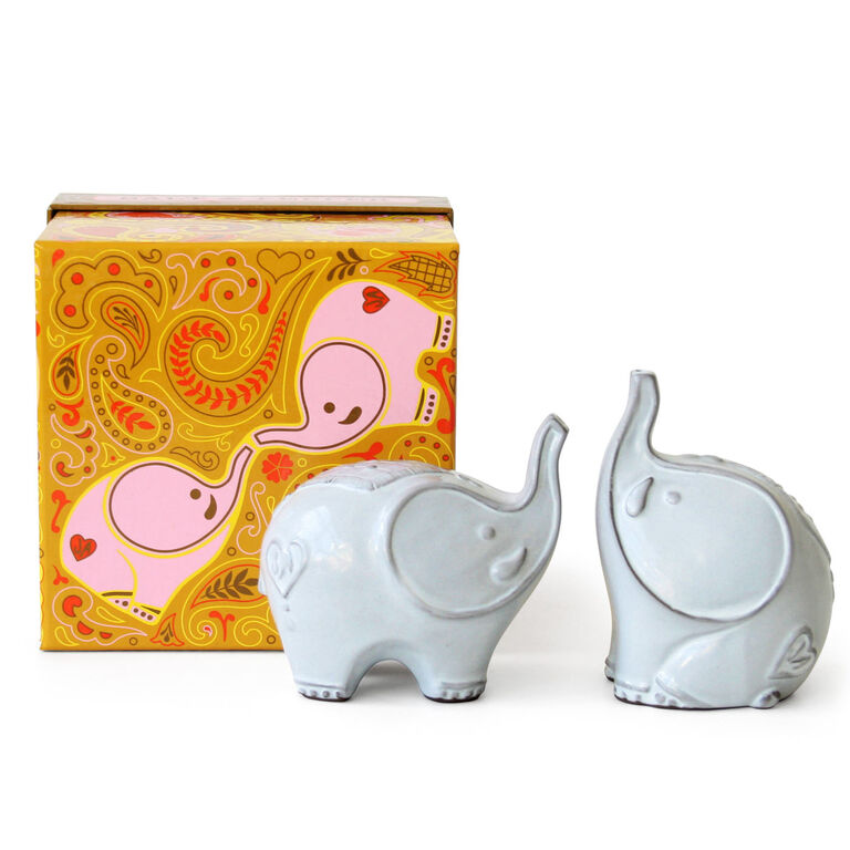 Holding Category for Inventory - Elephant Salt & Pepper Shakers