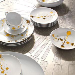 Dinner & Dessert Plates - 1948 Canape Plate Set