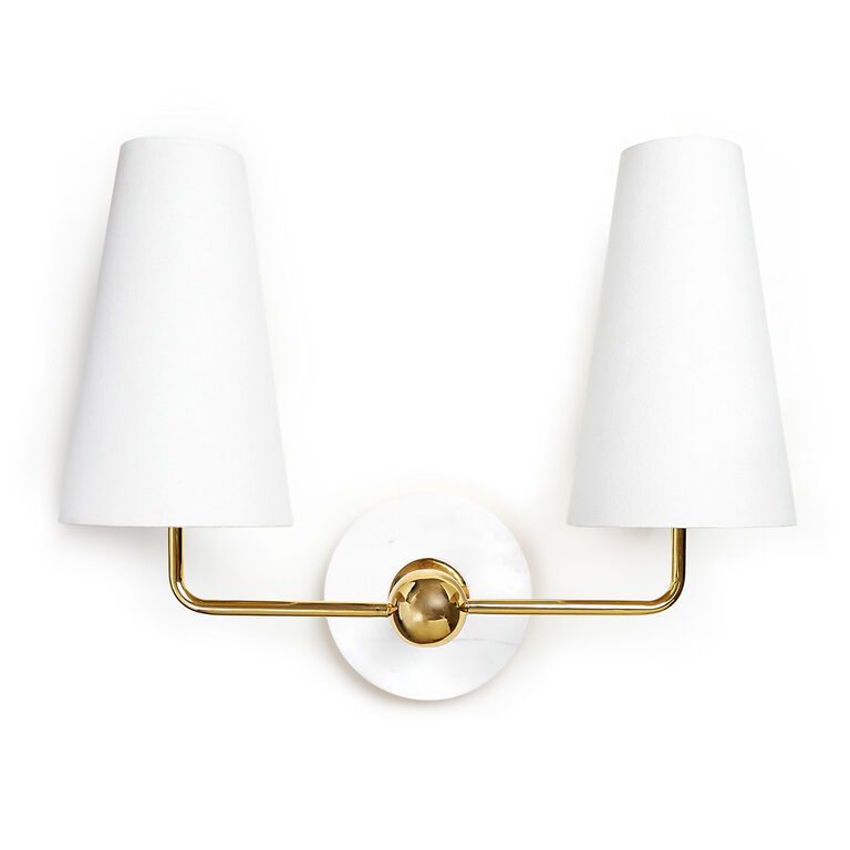 Wall Lamps & Sconces - Caracas Two-Light Sconce