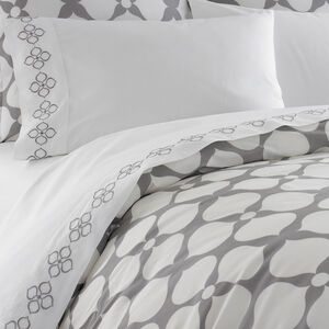 Duvets & Shams - Grey Hollywood Duvet Cover