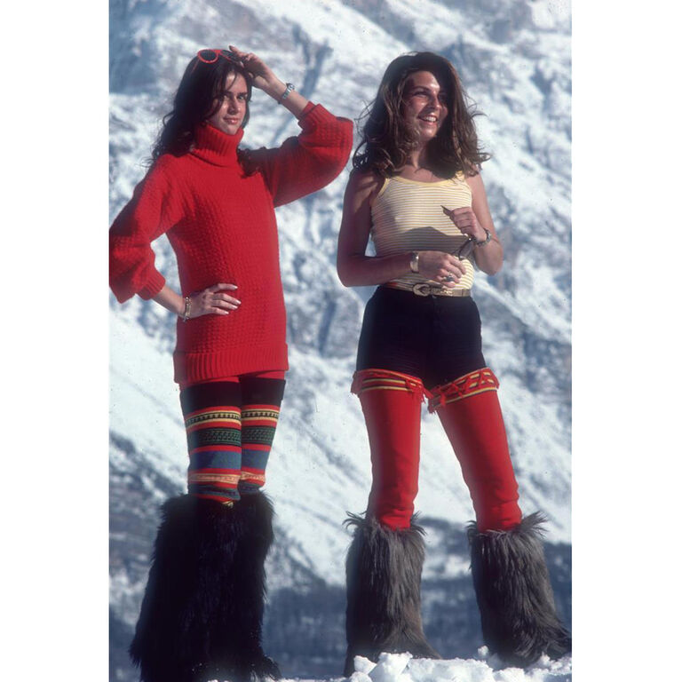 "Slim Aarons - Slim Aarons ""Winter Wear"" Photograph"