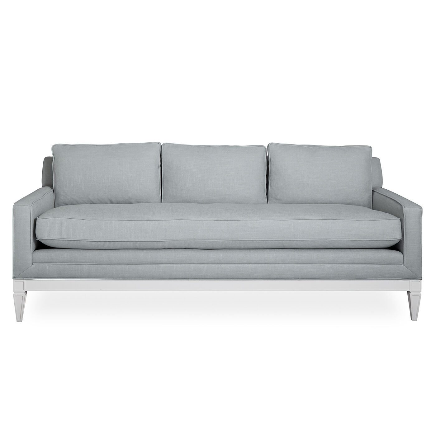 Sofas   Templeton Apartment Sofa In Devere Cloud Linen
