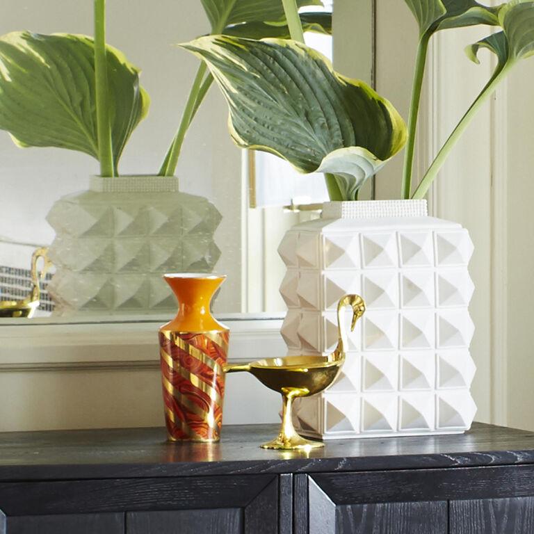 Vases - Malachite Twist Vase