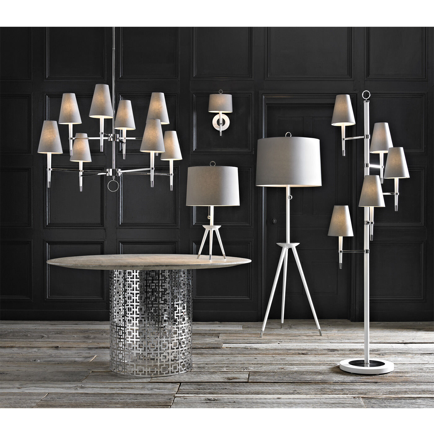 table lamps ventana tripod table lamp