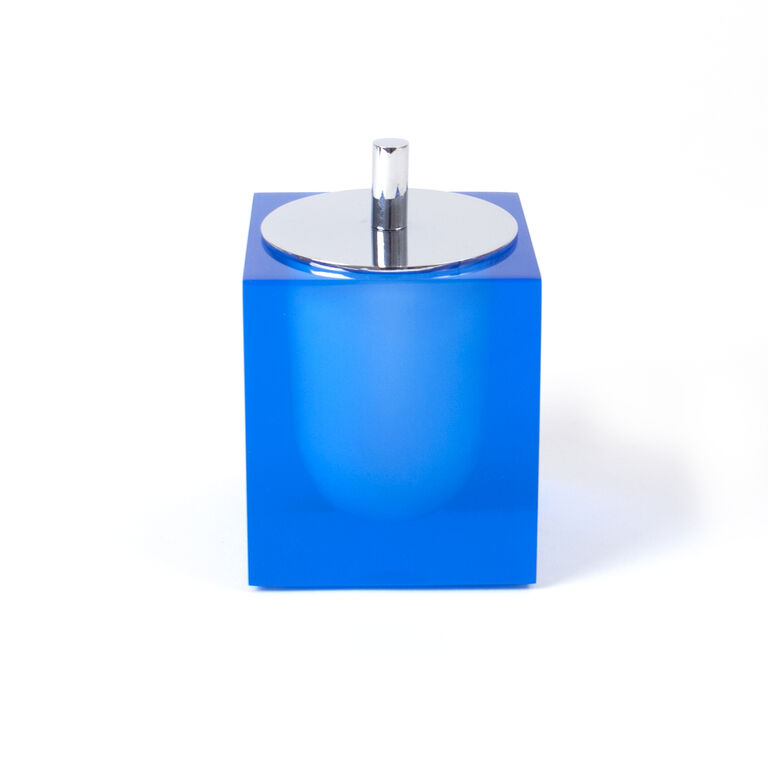 Bath Accessories - Blue Hollywood Canister