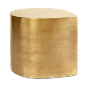 Side & Accent Tables - Brass Teardrop Table