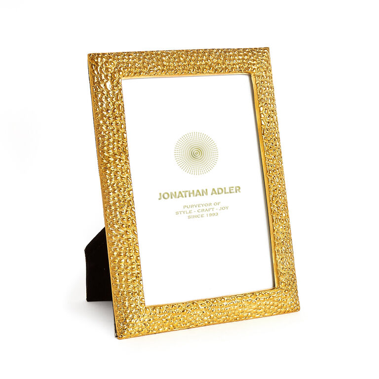 Holding Category for Inventory - Textured Brass Frame