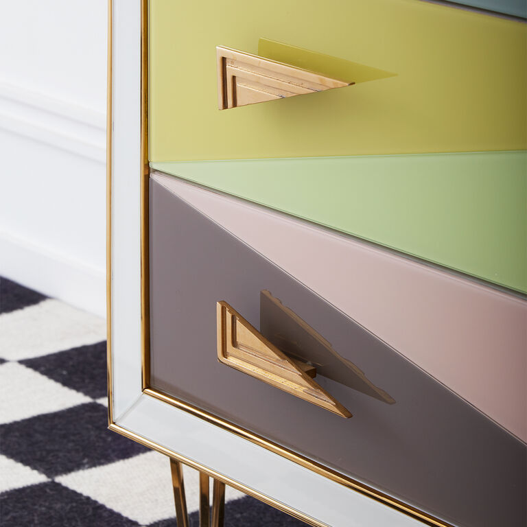 Étagères  & Cabinets - Harlequin Three-Drawer Chest