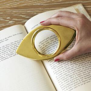 Brass Objets - Brass Magnifying Glass