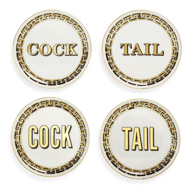 Coasters - Cock/Tail Coasters