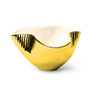 Bowls - Small Metallic Pinch Bowl