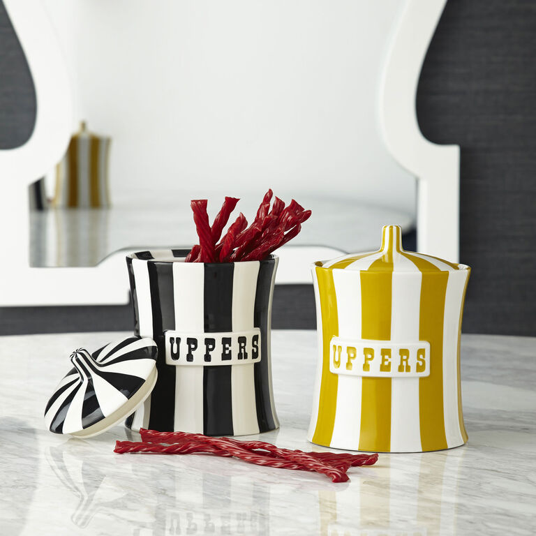 Cookie Jars & Canisters - Uppers Canister