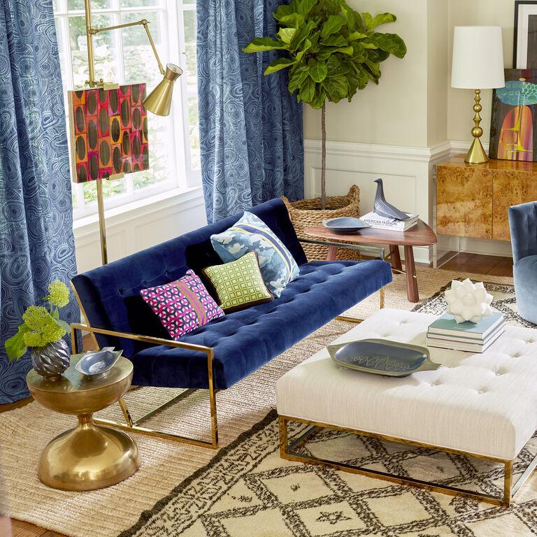 Goldfinger Apartment Sofa | Modern Furniture | Jonathan Adler