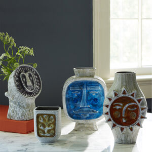 Vases - Glass Menagerie Lion Vase