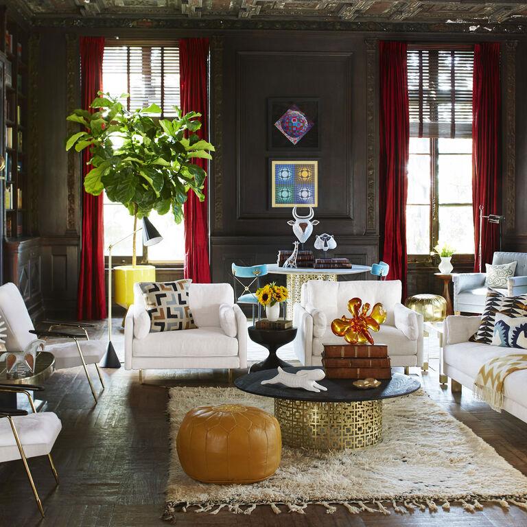 Malibu Arm Chair | Modern Furniture | Jonathan Adler