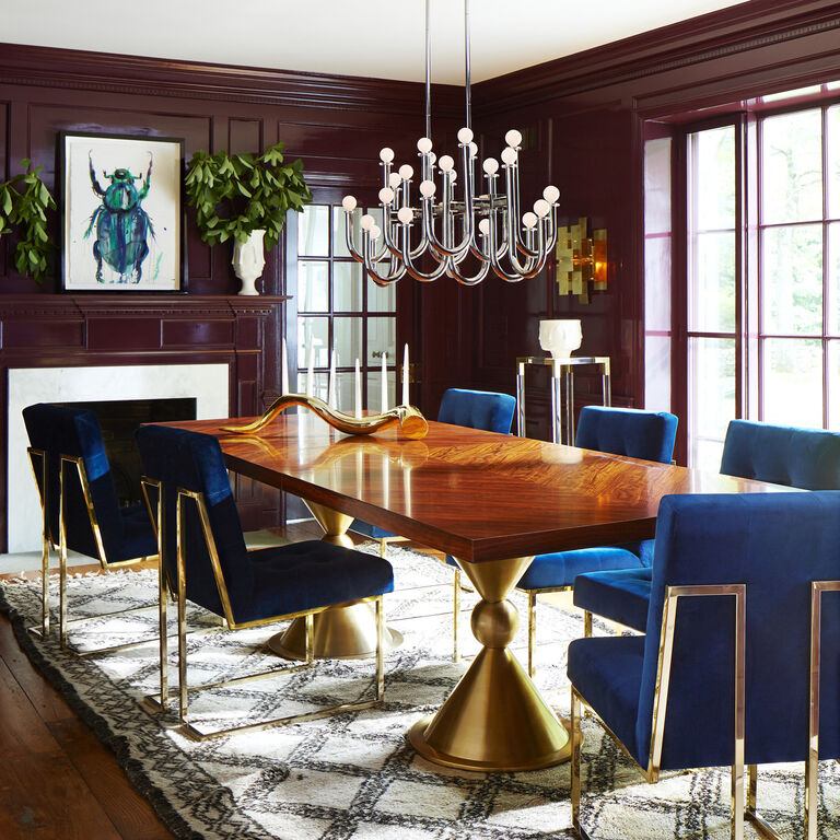 Dining Tables - Caracas Dining Table, Rosewood
