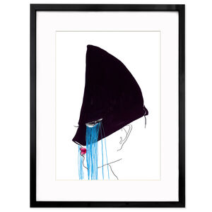 "Print - Tony Viramontes ""Jean Paul Gaultier Headdress"""