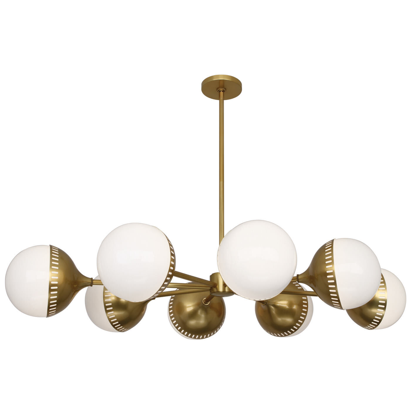 Chandeliers - Rio Oval Spoke Chandelier  sc 1 st  Jonathan Adler : modern lighting chandelier - azcodes.com