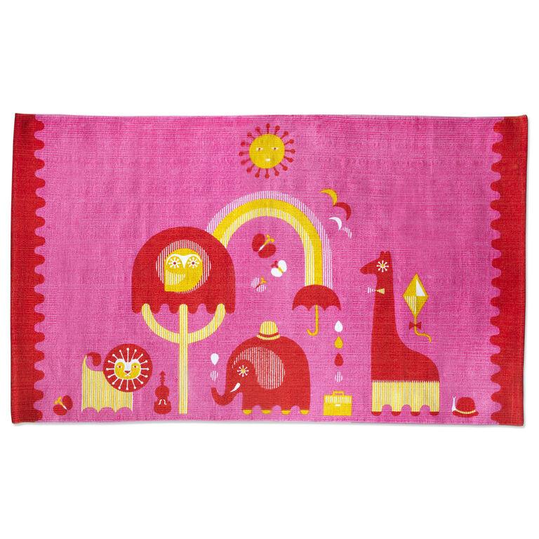 Décor & Pillows - Pink Junior Printed Rug