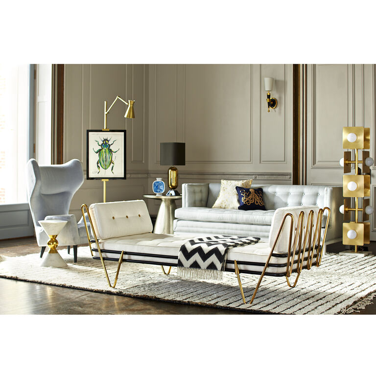 Jonathan Adler | Lampert T-Arm Sofa 2