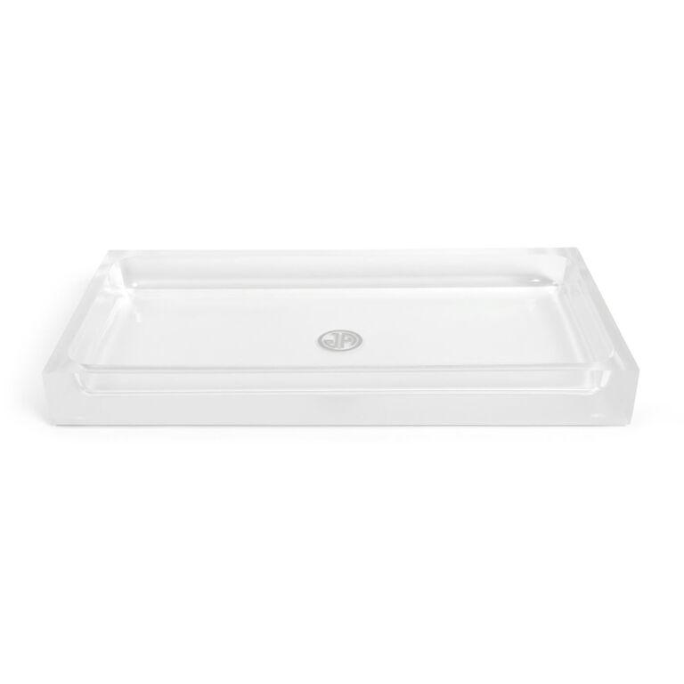Bath Accessories - White Hollywood Bath Tray