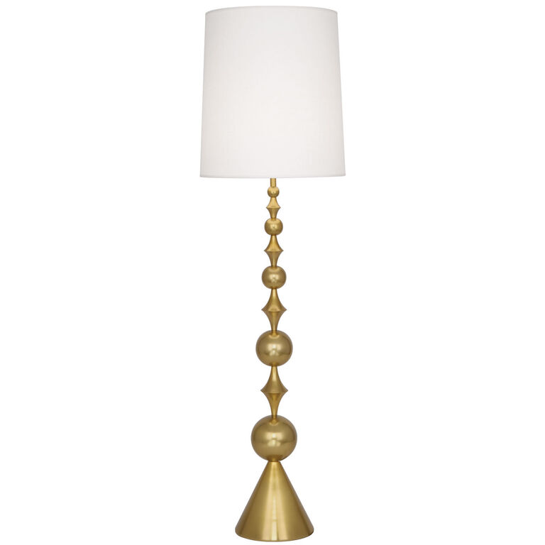 Harlequin Brass Floor Lamp