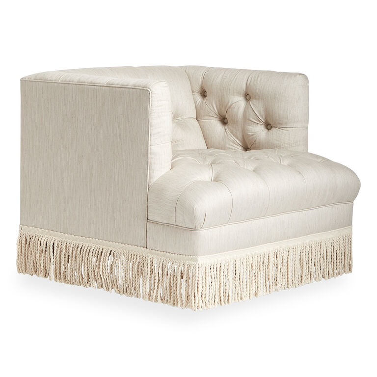 Jonathan Adler | Baxter Chair with Bullion Fringe 2