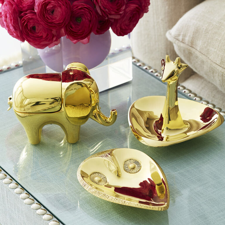 Holding Category for Inventory - Brass Elephant Box