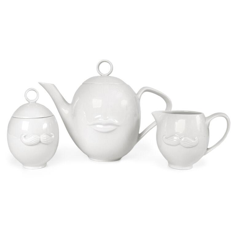 Teapots & Tea Sets - Muse Reversible Sugar Bowl