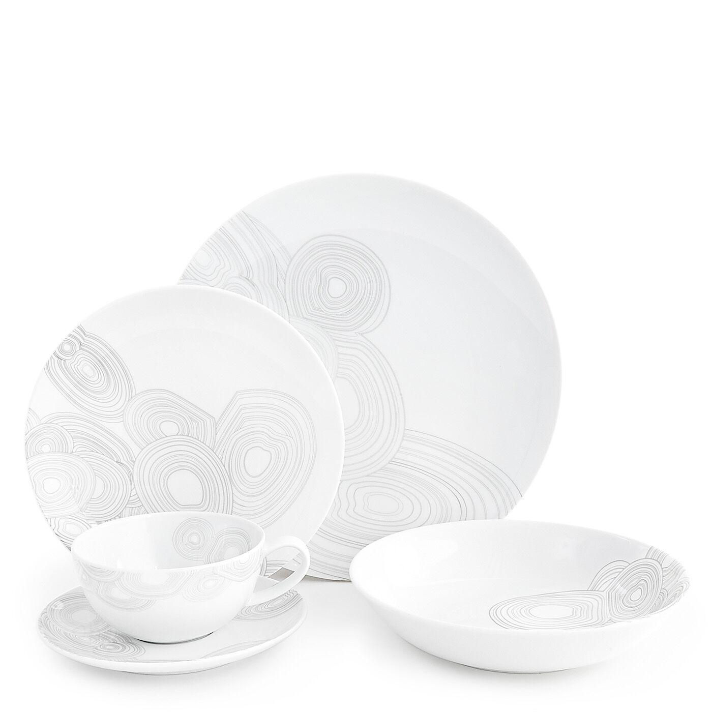 dinnerware sets malachite fivepiece dinner set - Modern Dinnerware