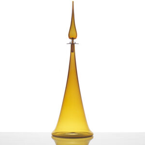 Joe Cariati - Joe Cariati Large Fluted Cone Decanter