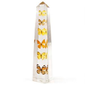 Acrylic Objets - Butterfly Obelisk
