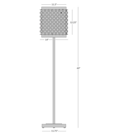 Parker Floor Lamp Isometric 1