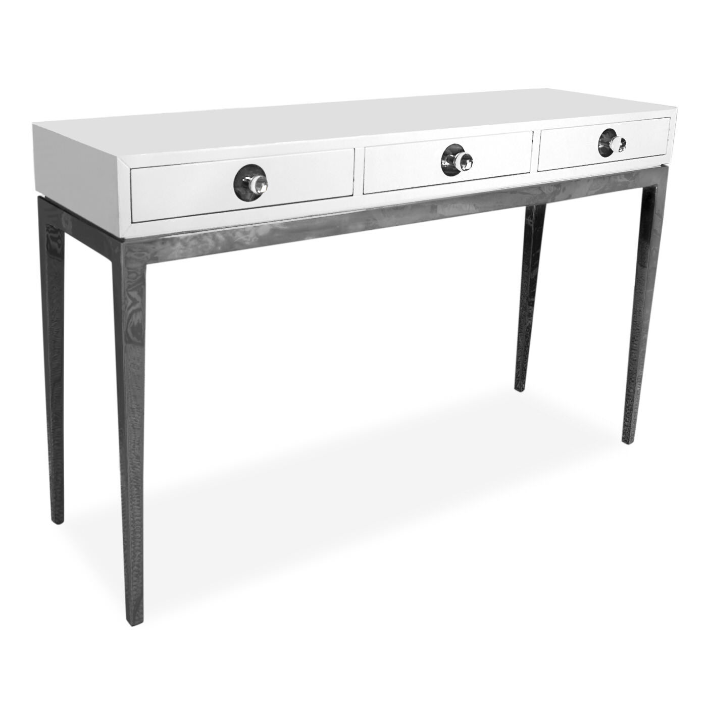 Consoles U0026amp; Credenzas   Channing Three Drawer Console