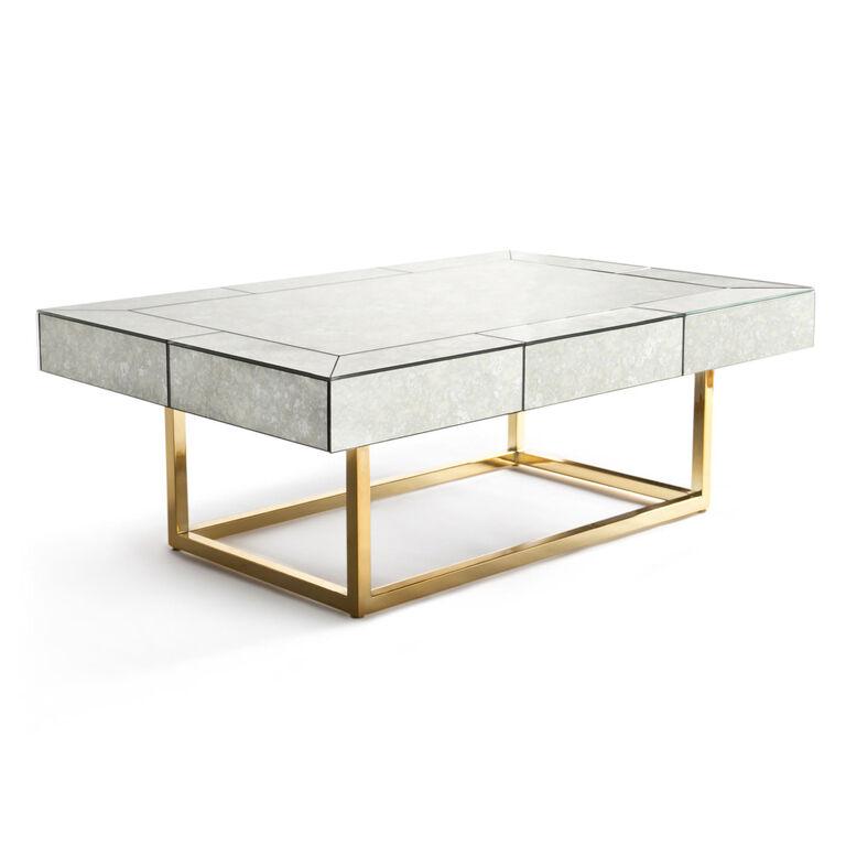 Delphine Mirror Cocktail Table