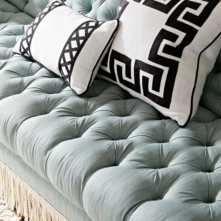 Jonathan Adler | Baxter T-Arm Sofa with Bullion Fringe 8