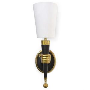 Wall Lamps & Sconces - Brass Hand Sconce