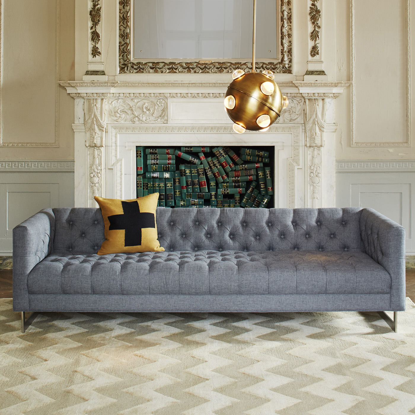 Superb Baxter Grand Sofa, , Hi Res ...