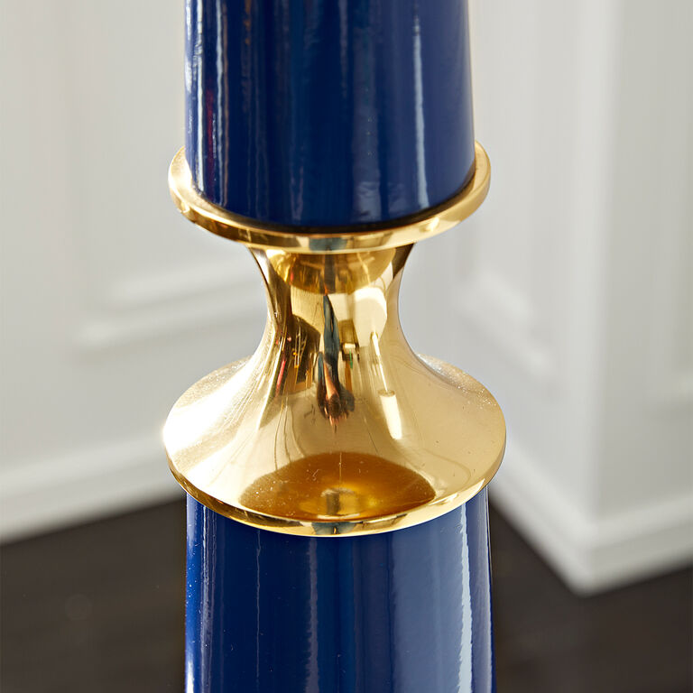 Floor Lamps - Versailles Floor Lamp with Painted Shade