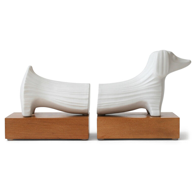 Bookends - Menagerie Dachshund Bookend Set
