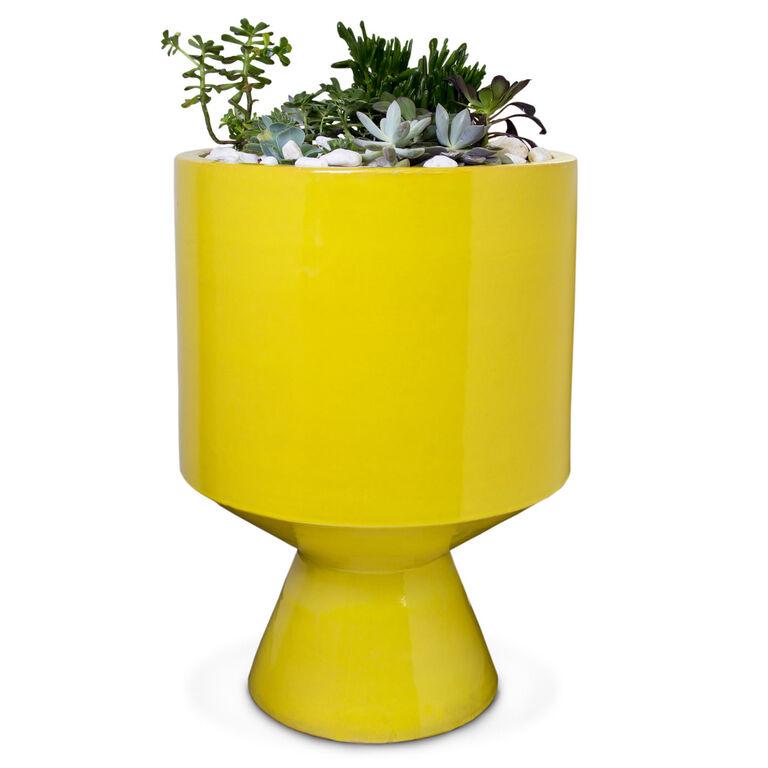 Holding Category for Inventory - Yellow Okura Planter