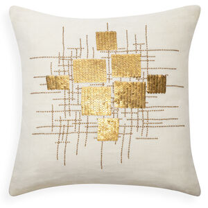 Textured & Embellished - Talitha Puzzle Throw Pillow