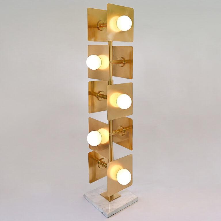 Puzzle floor lamp modern floor lamps jonathan adler for Best modern lighting websites